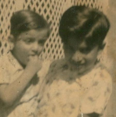 Deepak Chopra with his brother