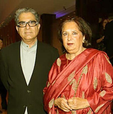 Deepak Chopra with his wife