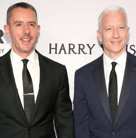Benjamin Maisani with his ex-partner Anderson Cooper