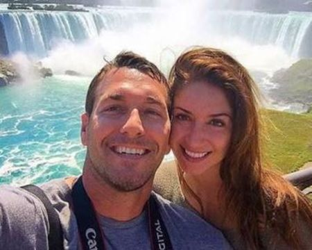 Brandon McMillan with his girlfriend Alanna Polycn