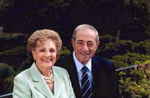 Matilda Cuomo with her husband Mario Cuomo