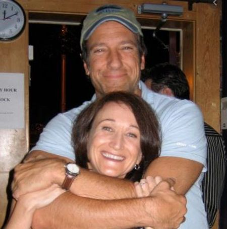 Mike Rowe with ex-girlfriend, Danielle Burgio