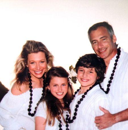 Stefani Schaefer with her family